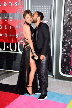 When They Were Snapped Being Sweet at the 2015 VMAs - All the Times John Legend…