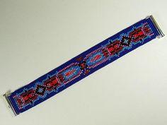 Bead Loom Antique Motif 3 Bracelet Pattern PDF 1Wide Bracelet