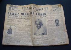 1920s Newspaper prop