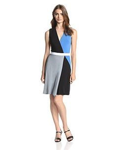 Bailey 44 Women's Color Field Colorblock Fit and Flare Dress, Multi, X-Small Bailey 44 http://www.amazon.com/dp/B00J0W0JNC/ref=cm_sw_r_pi_dp_XpBRvb0ECS3ES