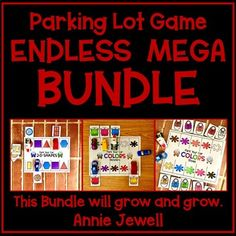 Use these Parking Lot Games in preschool, pre-k, kindergarten, and 1st grade! These games provide skill practice as your students have fun! Use small toy cars and your students will beg to play this game again and again. Perfect for independent practice, small groups, or centers. This is a favorite... Ten Games, Games To Play, Grid Game, Car Card, Play N Go, Cvc Words, Matching Games, Parking Lot, Small Groups