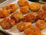 Fried Deviled Eggs-Compliments of Food Network. Delicious twist on a classic favorite.