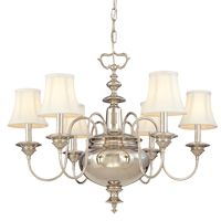 Yorktown series chandelier by Hudson Valley Lighting #lights #homedecor