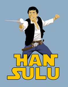 Perfection. But he does still have his shirt on, so not canon. @George Karabelas Takei