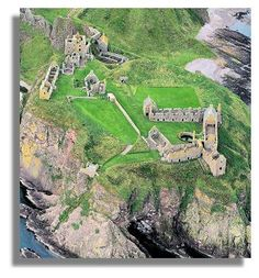 I was in Aberdeen, Scotland, just for the one day once. Missed out visiting the magnificent ruins of Dunottar Castle. For some reason people like getting married there!