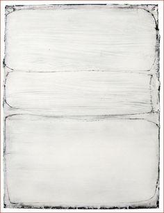 Hideaki Yamanobe, Three Clouds 2011-1 - 2011, Mischtechnik auf Leinwand, 80x60cm