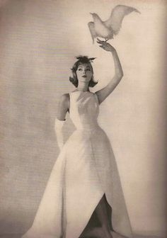 Harper's Bazaar March 1958 #EasyNip