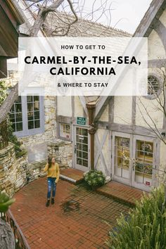 Carmel is a perfect weekend trip in Northern California. A two hour drive from San Francisco, Carmel offers plenty of boutique hotels to choose from. Carmel California Hotels, Carmel Ca Hotels, California Travel, Northern California, Central California, San Francisco To Carmel, Living In San Francisco, San Francisco Travel, Ocean Front Property