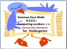 Counting and  CardinalityStudents will began to compare numbers between 1 and 10 presented as written numbers.These worksheet will allow for practice with more and lessCounting objects and pairing the objects with written numbers.