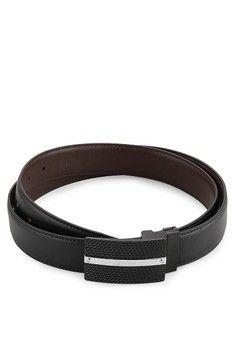 Pria > Aksesoris > Ikat Pinggang > Sabuk Kulit > Aster Reversible Buckle Belt EG 067 A > EAGLE Genuine Leather