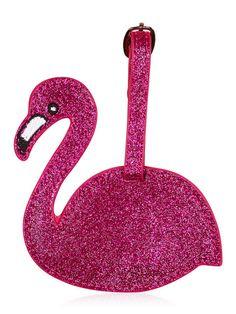Skinnydip Flamingo Luggage Tag