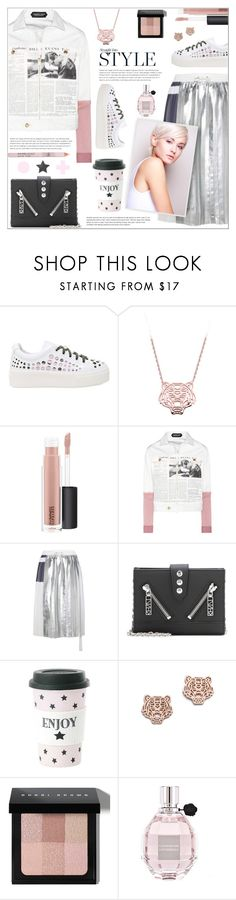 """""""Print Jacket!!"""" by alves-nogueira ❤ liked on Polyvore featuring Kenzo, MAC Cosmetics, Undercover, Public School, Miss Etoile, Bobbi Brown Cosmetics and Viktor & Rolf"""