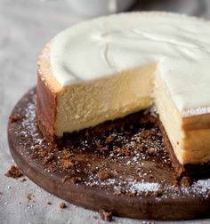 The classic cheesecake   Woolworths TASTE