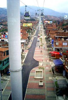 Architecture In Development - news - The Urban Transformation of Medellin, Colombia