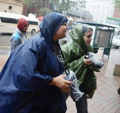 Alet Pretorius and Theana Breugem yesterday in the rain at the Oscar Pistorius case.  Follow the case on www.beeld.com Oscar Pistorius, Behind The Scenes, Rain, Pictures, Rain Fall, Photos, Waterfall, Grimm
