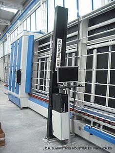 Glass Inspector - Sistema de visión artifical para el control de la calidad en la fabricación de doble acristalamiento,vidrio templado, vidrio laminado y vidrio para aplicaciones fotovoltáicas.