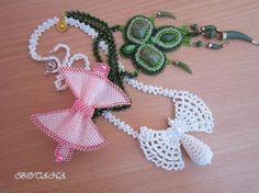 бело-розово-зелененькое ассорти