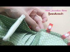 Tuto Minie Accordion Purse PINN SHOP - YouTube