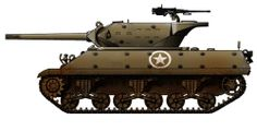 US - Wolverine Tank Destroyer M10 Wolverine, M10 Tank Destroyer, Sherman Tank, World Of Tanks, Panzer, Armored Vehicles, World War Ii, Military Vehicles, Ww2