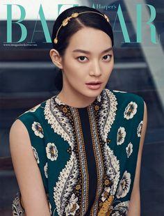 Valentino Darling Shin Min Ah Covers Harper's Bazaar Korea's February 2015 Edition