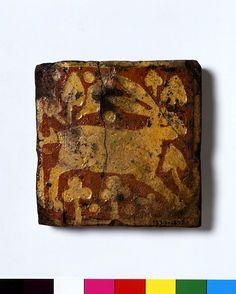 Hare Penn tile ca. 1332-1350 (made) V