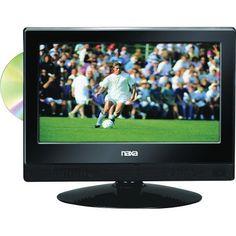 "NAXA NTD1354 13.3"" Widescreen Led HDTV/DVD Combination"