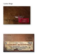 DENIM LABEL & TAGS - SALSA DENIM MAN ACCESSORIES COLL. by Öznur Çakal Demirhan, via Behance