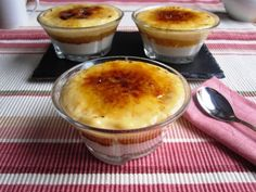 Goxua, receta de postre tradicional vasco - Cocinillas.es | cocinillas.es Easy Tiramisu Recipe, Spanish Kitchen, Muffins, Mini Desserts, Cakes And More, The Best, Cake Recipes, Sweet Tooth, Food And Drink