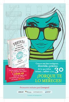 ¡Atención! Editorial Aguilar México, Liverpool y Glamour México. Tienen una promoción especial para ti. ¡No te la puedes perder!