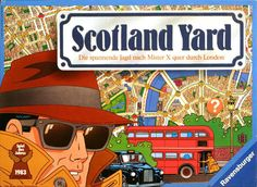 In Scotland Yard, one of the players takes on the role of Mr. X. His job is to move from point to point around the map of London taking taxis, buses or subways. The detectives – that is, the remaining players acting in concert – move around similarly in an effort to move into the same space as Mr. X. But while the criminal's mode of transportation is nearly always known, his exact location is only known intermittently throughout the game.  The 125 fare tickets are 5 bl...