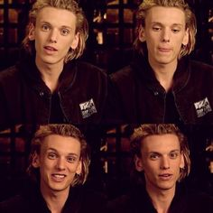 Jamie Campbell Bower// Jace Wayland lets just take a second at talk about his cheekbones