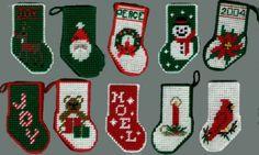 Snowman Ornament Plastic Canvas | Smiley's Plastic Canvas Christmas Items