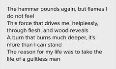 """The Hammer Holds"" - Bebo Norman"