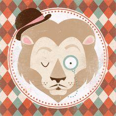 #boysroom #jongenskamer #Lion #Print | ZARA PICKEN society6