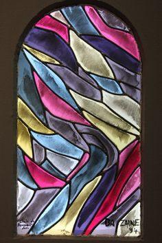 Les vitraux de Jean Bazaine à la chapelle Ty ar Zonj de Locronan http://www.lavieb-aile.com/article-les-vitraux-de-jean-bazaine-a-la-chapelle-ty-ar-zonj-de-locronan-29-122791302.html
