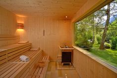 Look at the website click the tab for additional information steam room or sauna Diy Sauna, Sauna House, Sauna Steam Room, Sauna Room, Sauna Lights, Farm Villa, Building A Sauna, Sauna Shower, Houses