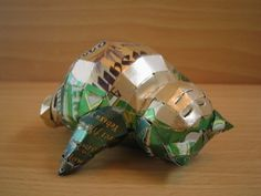 #Snorlax made of beer cans by Macaon