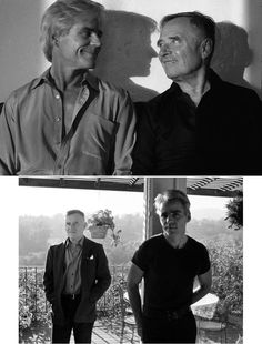 Christopher Isherwood & Don Bachardy ...fell in love and started their relationship in 1953, when Chris was 48 & Don was 18. They were together 33 yrs until Chris died of Cancer in 1986. (30 year age gap)