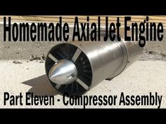 Here is how I assembled the compressor together for the cold section. As soon as I make and install the stator vanes the cold section will be complete. Technology Gadgets, Science And Technology, Jet Engine Parts, Mechanical Engineering Design, In The Air Tonight, Gas Turbine, Aircraft Engine, Model Airplanes, Rc Trucks
