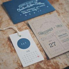 James bond wedding stationery save the date by catherine ings via 26 inventive save the date ideas reheart Gallery