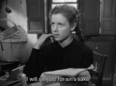 sin for sin's sake.