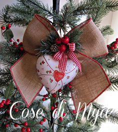Decorazioni handmade Natalizie, by COSE DI MYA, 19,00 € su misshobby.com