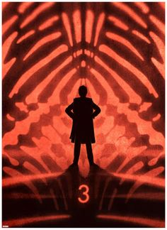 Dr. Who 50th Anniversary Silhouettes by Matt Fergusson : 3