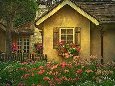 If I were ever to win the Lottery, I would live in a cottage in Carmel-by-the-Sea.