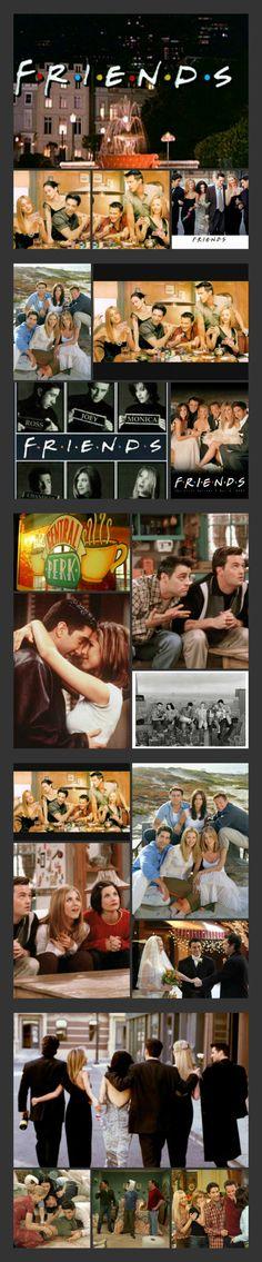 F.R.I.E.N.D.S   How you doin'?   Favorite ever tv show!!!