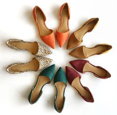 Shoes that don't fall flat. Which pair do you love? #TuesdayShoesday