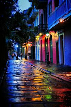 diggers-colorful-world:  bluepueblo: Pirates Alley, New Orleans, Louisiana photo via javier