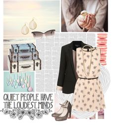"""""""Quiet People, Loud Minds"""" by julisolo ❤ liked on Polyvore"""