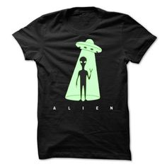 Cool ALIEN Hoodie, Team ALIEN Lifetime Member