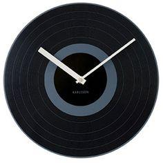 Karlsson Record Wall Clock